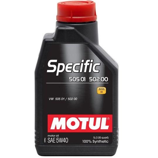 Масло моторне 100% синтетичне д/авто MOTUL Specific VW 505 01 / 502 00 / 505 00 SAE 5W40 1л. 101573/842411
