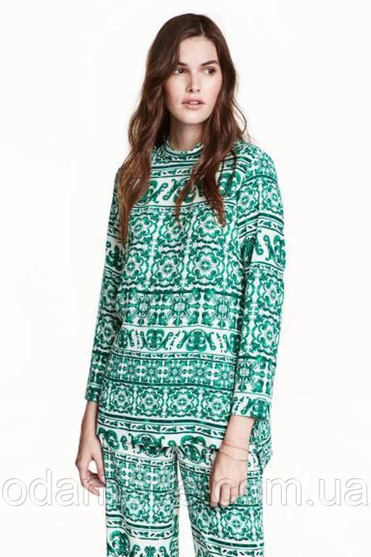 Блуза женская с принтом  H&M