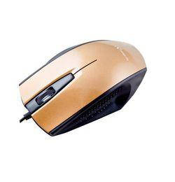 Мышь проводная HI-RALI M8141 Black/gold