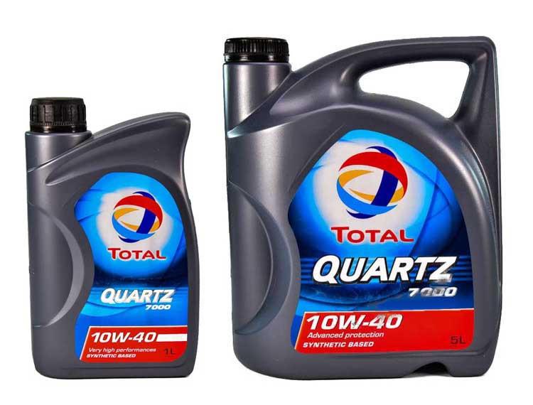 Моторне масло Total Quartz 7000 10W-40-1 л