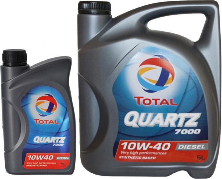 Моторне масло Total Quartz Diesel 7000 10W-40-1 л