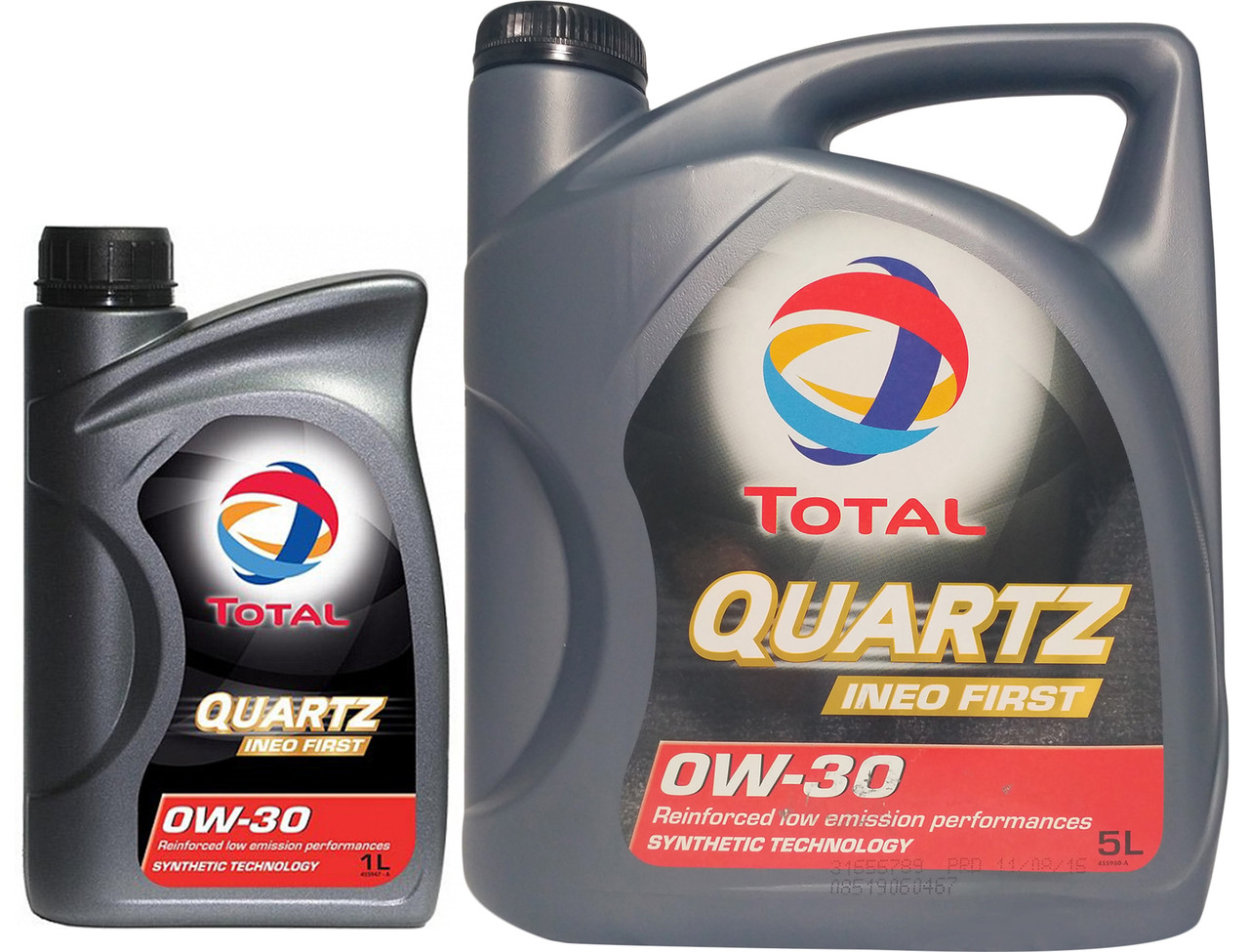 Моторное масло Total Quartz Ineo First 0W-30 1 л