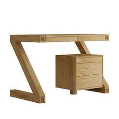Стол письменный компьютерный из дерева 127