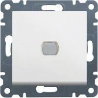 Светорегулятор нажимной Hager Lumina 2 Белый (WL4030), фото 1