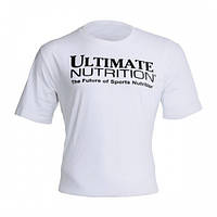 Одежда Футболка Ultimate Nutrition - белая S