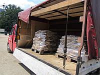 Песчаник с доставкой на поддонах, купить Киев