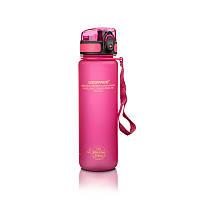 Бутылка UZspace Colorful Frosted 500 мл, розовая - 3026