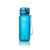 Бутылка UZspace Colorful Frosted 650 мл, голубая - 3037