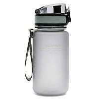 Бутылка UZspace Colorful Frosted 350 мл, серая - 3034