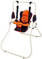 Качель напольная Babyroom Casper  графит-оранжевый