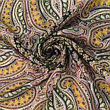 Восточная принцесса 1908-9, павлопосадский платок шерстяной  с оверлоком, фото 10