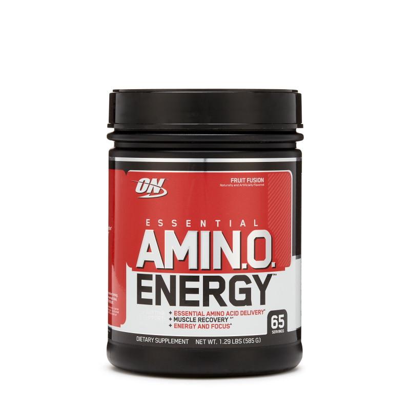 Предтренировочный комплекс Optimum Essential Amino Energy, 585 грамм Фруктовый пунш