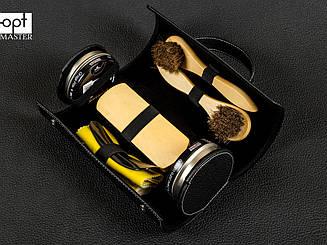 Набор для ухода за обувью Tarrago BLACK SHOE CARE TRAVEL KIT, TCV13