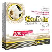 Натуральная добавка Olimp Garlicin, 30 капсул