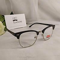 Культовые очки Ray Ban Clubmaster имиджевые