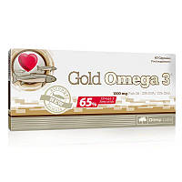 Жирные кислоты Olimp Gold Omega 3 65%, 60 капсул