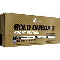Жирные кислоты Olimp Gold Omega 3 Sport Edition, 120 капсул
