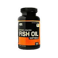 Жирные кислоты Optimum Fish Oil, 100 капсул