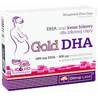 Жирные кислоты Olimp Gold DHA, 30 капсул