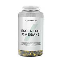 Жирные кислоты MyProtein Essential Omega 3, 90 капсул
