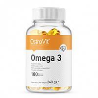 Жирные кислоты OstroVit Omega 3, 180 капсул
