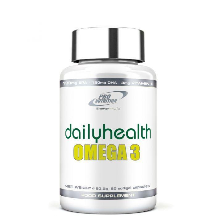 Жирные кислоты Pro Nutrition Omega 3, 60 капсул