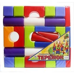 """Конструктор Теремок """"Средний"""" 08072, развивающая игрушка, подарок для ребенка"""