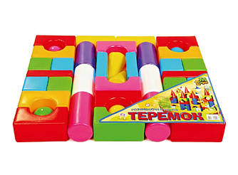 """Конструктор Теремок """"Большой"""" 08073, развивающая игрушка, подарок для ребенка"""