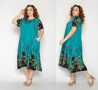 Женские платья летние размеры 54-58