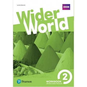 Wider World 2 Workbook with Online Homework