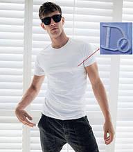 "Мужская футболка 100% Хлопок Марка ""DOOMILAI"" Арт.1839 (белый)"