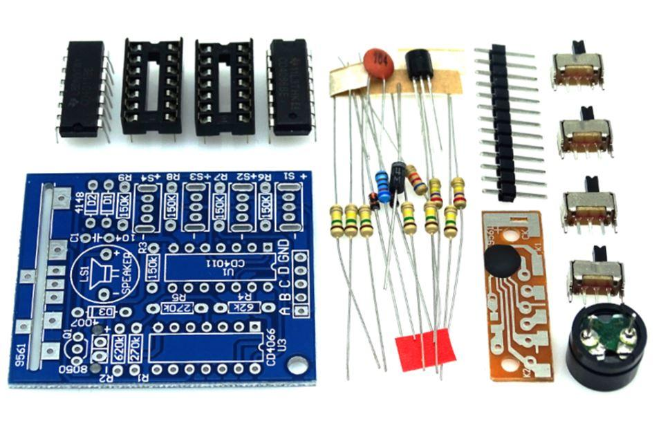 Радиоконструктор музыкальная шкатулка Music Box 16 Sound Box