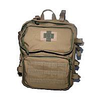 Тактичний медичний рюкзак комплект RVL пісок