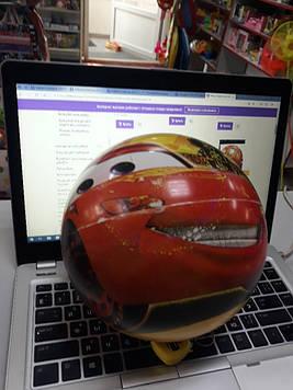 Мячик для детей с рисунком тачки