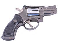 Сувенирный Револьвер зажигалка с кобурой мини (Турбо пламя)