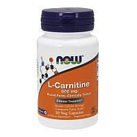 Л-Карнитин NOW L-Carnitine 500 mg purest form 30 veg caps