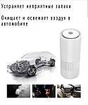 Очиститель воздуха ионизатор Wi-smart Air портативный для автомобиля, комнаты, офиса, детской, фото 5