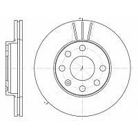 "Тормозной диск передний  DAEWOO LANOS/NEXIA  ""13"",OPEL ASTRA F,KADETT E,COMBO(94-01г),пр-во ABE C30002ABE, фото 1"