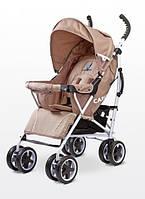 Детская прогулочная коляска трость Caretero Spacer (Бежевый)