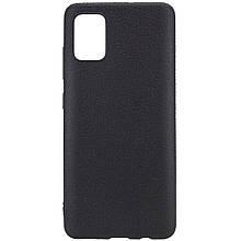 PU накладка Epik leather series для Samsung Galaxy A71