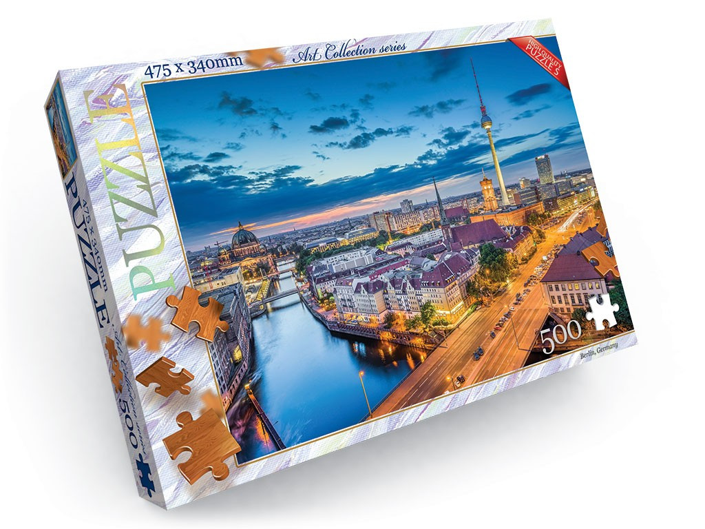 Пазли на 500 елементів Berlin Germany Danko Toys С500-11-10