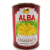 Alba Foodананас кольца в сиропе580мл