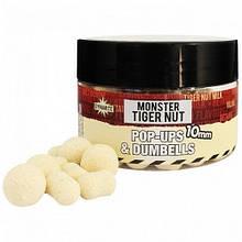Бойлы Dynamite Baits Fluro Pop-Ups & Dumbells Monster Tiger Nut 10мм