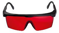 Очки усиливающие яркость лазера (красные)