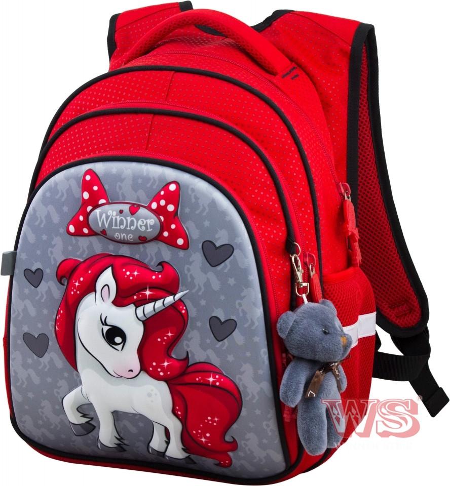 Рюкзак шкільний для дівчат Winner One R2-165