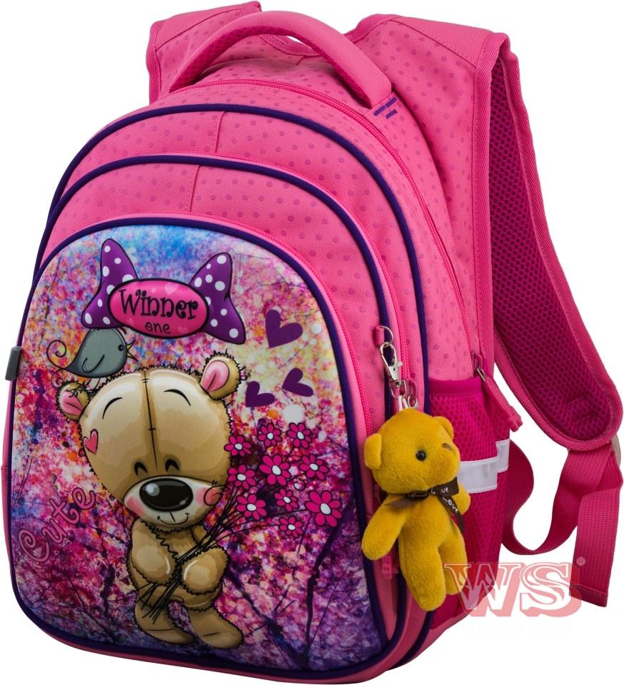 Рюкзак шкільний для дівчат Winner One R2-166