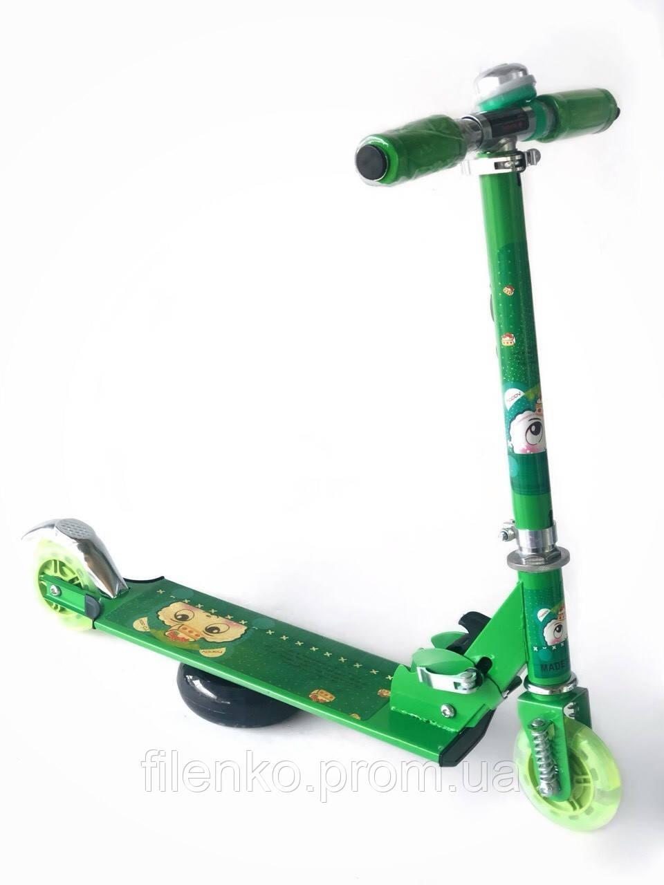 Самокат Scooter Pro 1015 Зеленый