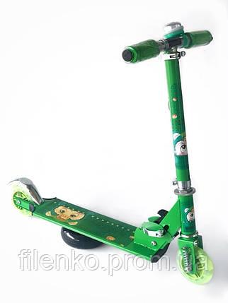 Самокат Scooter Pro 1015 Зеленый, фото 2