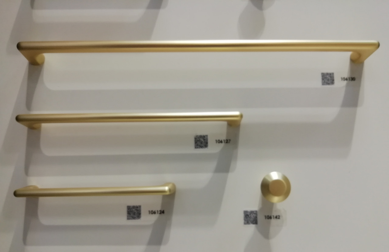 Ручка меблева скоба GIFF 4/101 матове золото