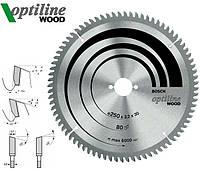 Пильный диск Bosch Optiline Wood 305 мм 96 зуб.